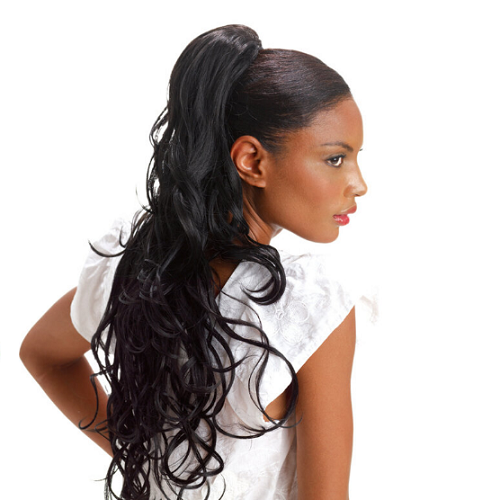 Sleek synthetic Bootylicious EZ Ponytail clip-on Style