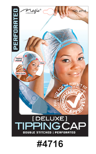 Magic Collection Deluxe Tipping Cap Double Stitched Perforated-4716