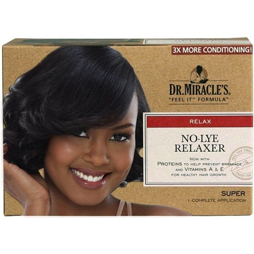 Dr. Miracle's Feel It Formula No-Lye Relaxer Super