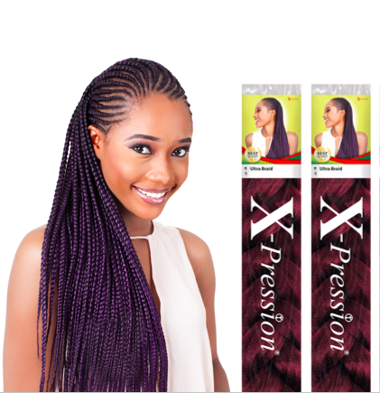 XPRESSION ULTRA BRAID FOR BRAIDING PLAITING KANEKALON